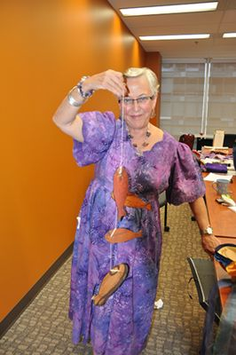 Learn how to fish in the deeps symbolically displayed by Dr. Evangeline Rand